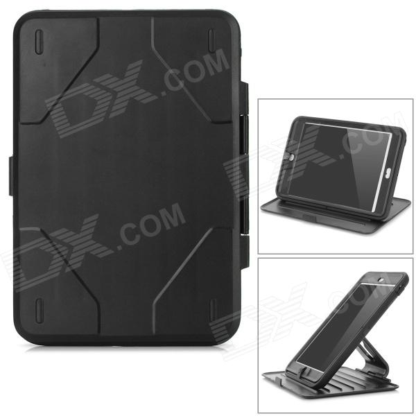 360' Rotary PVC Protective Full Body Case w/ Stand for IPAD MINI / RETINA IPAD MINI - Black
