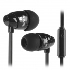 SOUND INTONE 3.5mm In-Ear Style Hi-Fi Handsfree Headphone w/ Microphone - Black (Cable-110cm)