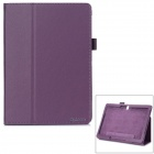 Stylish Flip Open PU Case w/ Stand for 10.5'' Samsung Galaxy Tab S T800 - Purple