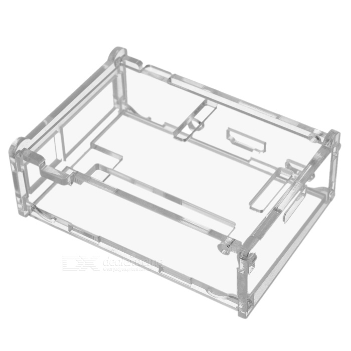 Acrylic Case for Raspberry Pi Model B+ - Transparent