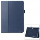 Flip Open PU Case w/ Stand for 10.5'' Samsung Galaxy Tab S T800 / 801 / 805 - Deep Blue