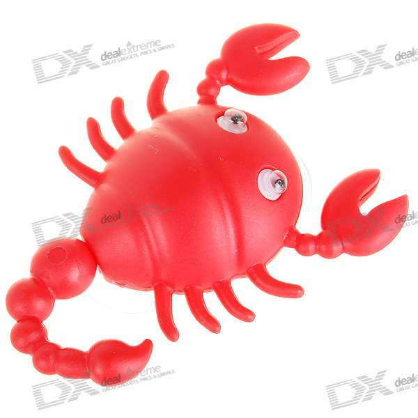 Cute Scorpion Shaped Pothook with Two Suckers (Color Assorted) octagon shaped military cap color assorted