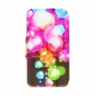 Kinston Color Bubble Padrão PU Leather Case Full Body com suporte para Motorala Moto X