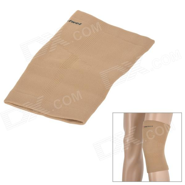 CAMEWIN 0889 Sports Nylon + Latex Knee Support Guard Protector Sleeve - Khaki (S) 1 piece knee protector pads warm camewin brand high elasticity knee support relieve arthritis gym sports outdoor guard kneepad