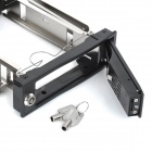 "MAIWO M001 Internal Built-in SATA HDD Mobile Rack Drawer Caddy for 3.5"" HDD - Black + Silver"