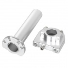 Universal DIY Motorcycle Aluminum Alloy One-Way / Two-Way Accelerator Handle Bar Grip - Silver