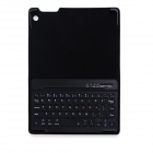 B.O.W Detachable Bluetooth V3.0 Keyboard w/ PU Leather Case for IPAD MINI 1 / 2 - Black + Pink