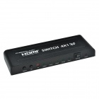 CHEERLINK L3HDSW0401P 4K x 2K Picture -in-Picture (PiP) HDMI 1.4a Switch w/ EU Plug - Black