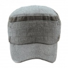 FenLu Fashionable Rivet Detailed Outdoor Leisure Baseball Cap - Grey
