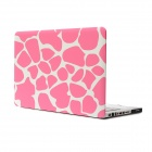 "Hat Pink Deer Skin Pattern Protective Full Body Matte Case for MacBook Air 15.4"" - Multicolor"