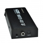 CHEERLINK L3HDSW0401 4 x 1 1080P HDMI 1.4a Switcher / Splitter w/ EU Plug Adapter - Black