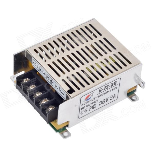 S-72-36 36V 2A Regulated Switching Power Supply - Silver (AC 110~240V)