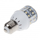 SOBO E27 7W 700lm 2700K 44 - SMD 2835 LED Warm White Light Lamp - Silver + Hvit ( 85 ~ 285V )