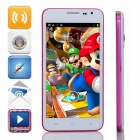 "G3 Dual-Core Android 4.2.2 WCDMA Bar Phone w/ 5.0"" IPS, 4GB ROM, Wi-Fi, GPS - White + Purple"