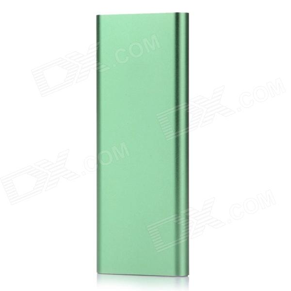 BP SL6 Universal 5V 3600mAh Li-polymer Battery Power Bank - Green + White