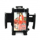 360' Rotation Car Air Conditioning Vent Holder Bracket for Cell Phone / GPS - Black