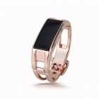 "Elephone W1 Bluetooth V3.0 0.49"" OLED Smart Bracelet Watch w/ Call Reminder, Stopwatch - Rose Gold"