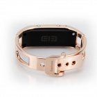 "V3.0 Elephone W1 Bluetooth 0,49 ""OLED intelligent Bracelet montre w / Appel Rappel, Chronomètre - Or rose"