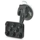 360 Degrees Rotating Suction Cup Car Mount Holder + Stylus for HTC / IPHONE + More - Black