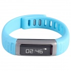 AOLUGUYA CM01 Touch Screen Bluetooth Bracelet Smart Watch for IPHONE + More - Black + Blue