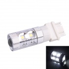 3157 / 3156 60W 600LM 6500K 12-SMD White Light LED Steering Brake Light for Car (DC12~24V)