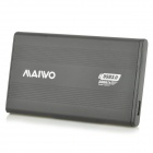 "Maiwo K2501U3S USB 3.0 External Hard Disk Drive Enclosure Case for 2.5"" SATA HDD - Black"