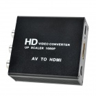 AV to HDMI HD Video Converter - Black