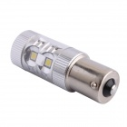 1156 BA15S 60W 550LM 6500K 12-SMD White Light LED Direcção backup Luz para carro (DC12 ~ 24V)
