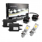 Merdia H7 26W 6000K 1800lm CXA1588 LED White Light Car Headlight Set (DC12~24V)