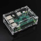 DIY Acrylic Box Case Housing for Raspberry Pi 3 B+ - Transparent