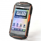 "Découverte V5 + MTK6572 Android 4.2.2 Dual-core WCDMA Bar Phone w / 3,9 ""écran, Wi-Fi et GPS - Orange"