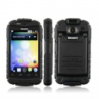 "Discovery V5+ MTK6572 Android 4.2.2 Dual-core WCDMA Bar Phone w/ 3.9"" Screen, Wi-Fi and GPS - Black"
