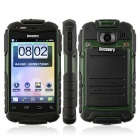 "Discovery V5+  MTK6572 Android 4.2.2 Dual-core WCDMA Bar Phone w/ 3.9"" Screen, Wi-Fi and GPS - Green"