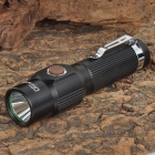 UItraFire S3 100lm White Light 3-mode Samsung SMD LED Rechargeable Pocket Flashlight - Black