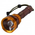 RichFire SF-351 CREE XP-G R5 350LM 3-Mode White LED USB Rechargeable Flashlight (1 x 18650/3 x AAA)