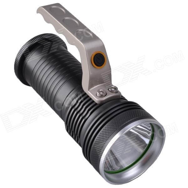 RichFire SF-341D 350LM 3-Mode Rechargeable LED White Flashlight - Grey (3 x 18650)
