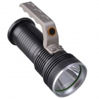 RichFire SF-341D CREE XP-G R5 350LM 3-Mode Rechargeable LED White Flashlight - Grey (3 x 18650)
