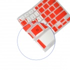 Angibabe Silicone Transparent Canada Flag Pattern Keyboard Cover for MacBook Air / Pro / Retina