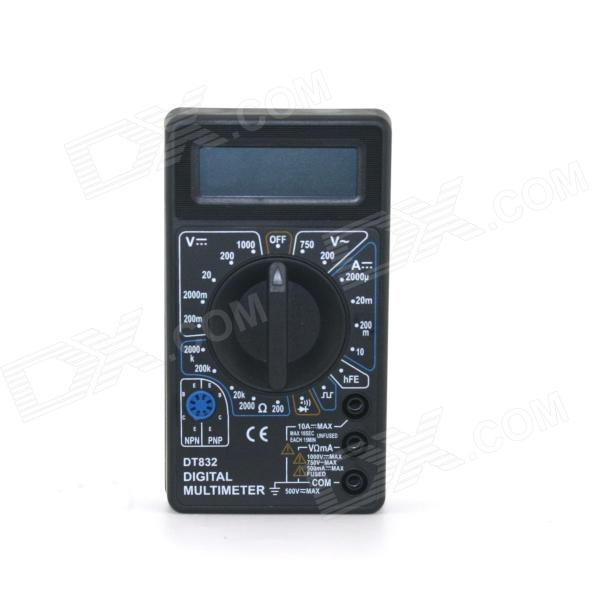 "DT832 Portable Handheld 1.8"" LCD Driver Digital Multimeter"
