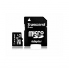 Transcend  8 GB Micro SDHC class 4 with Adapter TS8GUSDHC4