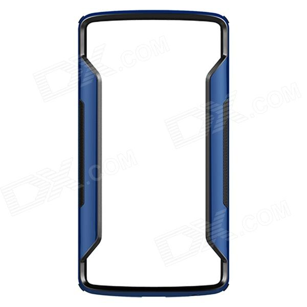 NILLKIN Protective PC + TPU Bumper Frame Case for LG G3 (D855) - Blue + Black protective tpu   pc bumper frame for lg