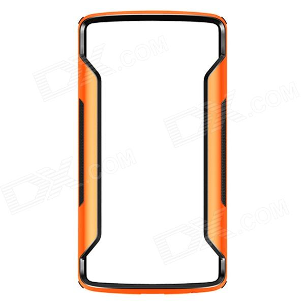 NILLKIN Protective PC + TPU Bumper Frame Case for LG G3 (D855) - Orange + Black wholesale original dlp projector color wheel for optoma ep728i color wheel