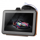 "5"" Capacitive Screen Android 4.0 Car GPS Navigator w/ European Map - Black"