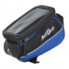 "MZYRH XS-A1 Waterproof Anti-impact Bike Frame Top Tube Bag for 4.8"" Touch Screen Cellphone - Blue"