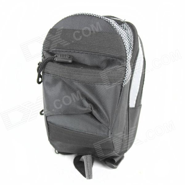 Bolsa de selim bicicleta high-density 600D - preto (800ml)