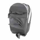 Bicycle High-density 600D Saddle Bag - Black (800ml)
