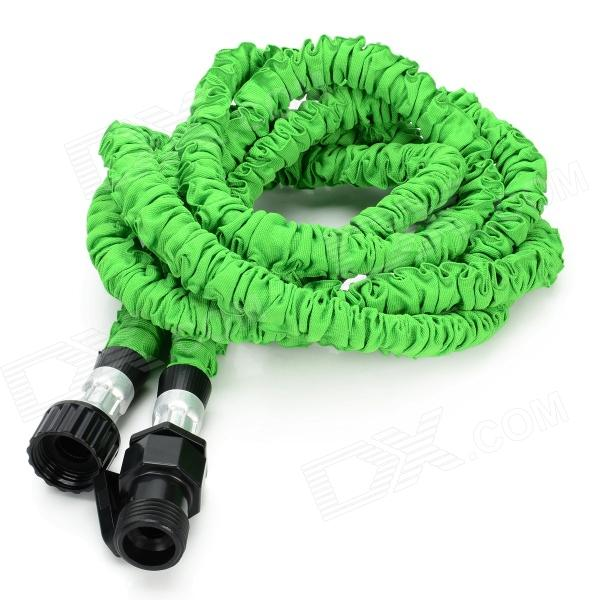US Standard 25ft Home Garden Flexible Natural Latex Water Pipe - Green european standard 25ft home garden flexible natural latex water pipe green
