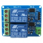 Buy 12V 2-Channel Dual Relay Module Optocoupler Isolation Arduino / AVR ARM - Blue + Green