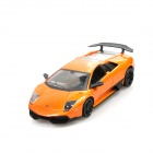 Lamborghini LP670 Genuine Authorized 4-CH R/C Car w/ LED lights - Orange