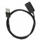 Quality USB 2.0 Extension Cable - Black (1M)